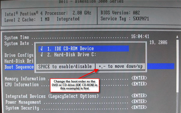 How to get into your computer's BIOS -