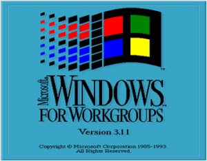 Windows 3.11 - Window for Workgroups